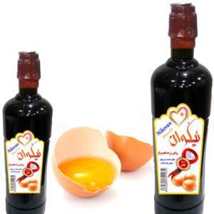 خواص و فواید روغن زرده تخم مرغ